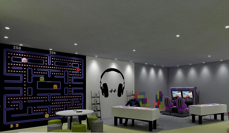 Digital Gaming Zone-2(3D View)