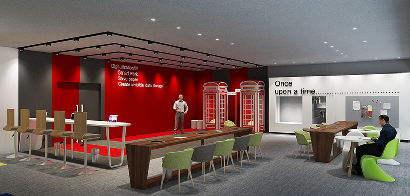 Digital Library -1(3D View)